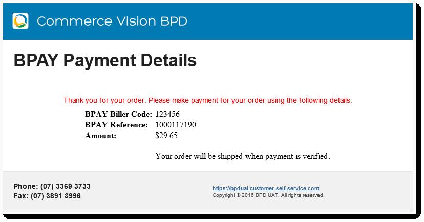 Bpay Payment Detail Widget Commerce Vision Documentation